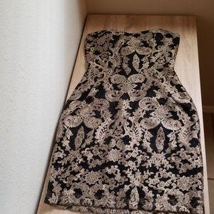 Medium classy strapless dress